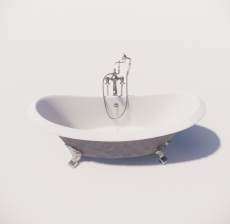 浴缸9_Sketchup模型