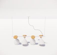 造型吊灯101_Sketchup模型