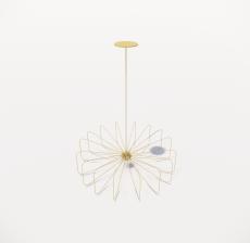 造型吊灯105_Sketchup模型