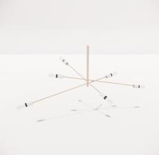 造型吊灯106_Sketchup模型