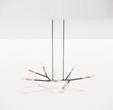 造型吊灯107_Sketchup模型