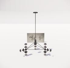 造型吊灯108_Sketchup模型