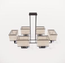 造型吊灯109_Sketchup模型