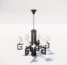 造型吊灯110_Sketchup模型