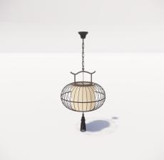 造型吊灯111_Sketchup模型