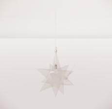 造型吊灯117_Sketchup模型