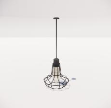 造型吊灯121_Sketchup模型
