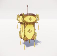 造型吊灯126_Sketchup模型