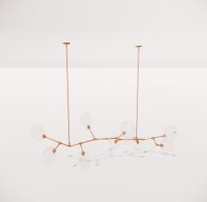 造型吊灯133_Sketchup模型