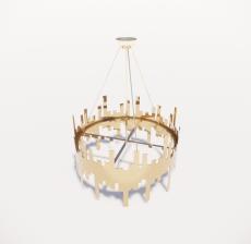 造型吊灯134_Sketchup模型