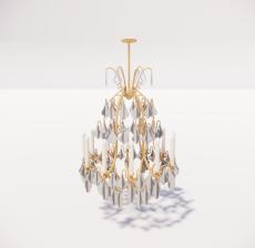造型吊灯135_Sketchup模型
