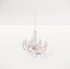 造型吊灯136_Sketchup模型