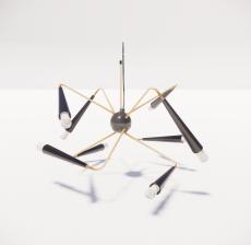 造型吊灯137_Sketchup模型
