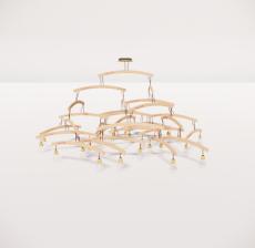 造型吊灯141_Sketchup模型