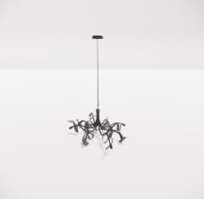 造型吊灯142_Sketchup模型