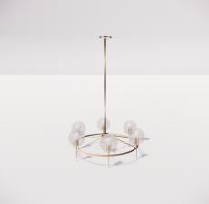 造型吊灯14_Sketchup模型