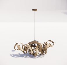造型吊灯16_Sketchup模型