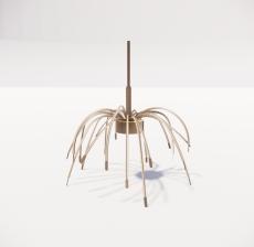 造型吊灯18_Sketchup模型