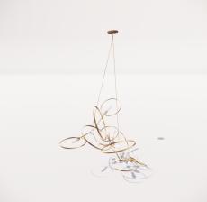 造型吊灯20_Sketchup模型