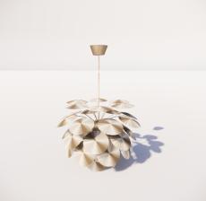 造型吊灯21_Sketchup模型