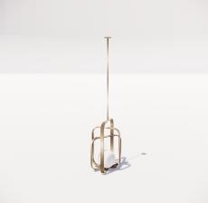 造型吊灯26_Sketchup模型