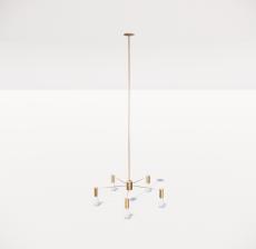 造型吊灯27_Sketchup模型