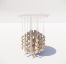造型吊灯29_Sketchup模型