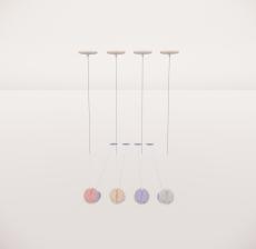 造型吊灯35_Sketchup模型