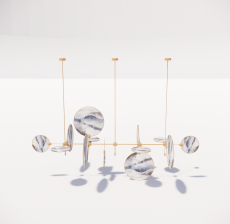 造型吊灯36_Sketchup模型