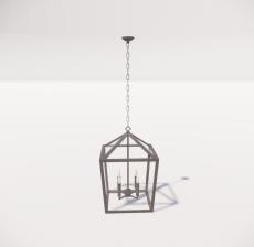造型吊灯38_Sketchup模型
