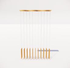 造型吊灯41_Sketchup模型