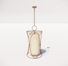造型吊灯42_Sketchup模型
