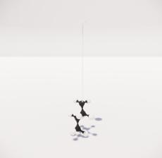 造型吊灯43_Sketchup模型