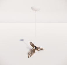 造型吊灯44_Sketchup模型