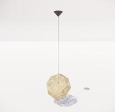 造型吊灯45_Sketchup模型
