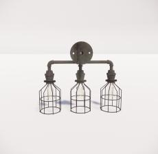 造型吊灯46_Sketchup模型