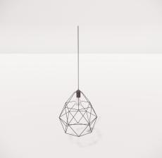 造型吊灯50_Sketchup模型