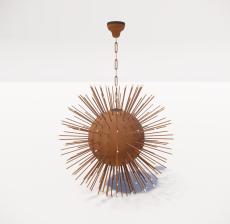 造型吊灯51_Sketchup模型