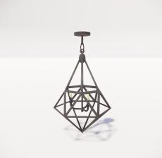 造型吊灯52_Sketchup模型
