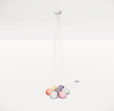 造型吊灯54_Sketchup模型