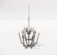 造型吊灯56_Sketchup模型