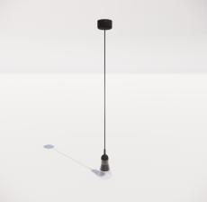 造型吊灯65_Sketchup模型