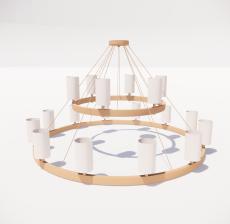 造型吊灯69_Sketchup模型