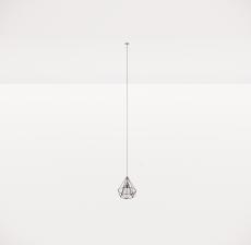 造型吊灯72_Sketchup模型