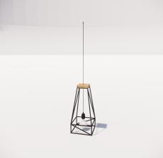 造型吊灯74_Sketchup模型