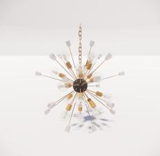 造型吊灯76_Sketchup模型
