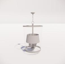 造型吊灯79_Sketchup模型