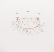 造型吊灯80_Sketchup模型