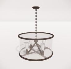 造型吊灯87_Sketchup模型