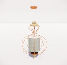 造型吊灯92_Sketchup模型